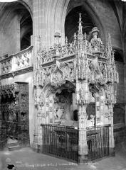 Ancienne abbaye de Brou - Tombeau de Marguerite d'Autriche, côté choeur