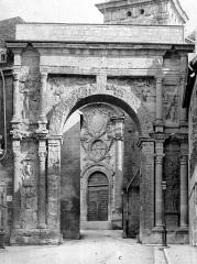 Cathédrale Saint-Jean et Saint-Etienne - Façade nord : Porte Noire