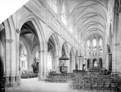 Cathédrale Saint-Louis - Vue intérieure de la nef, vers le nord-est