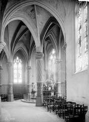Cathédrale Saint-Louis - Vue intérieure du déambulatoire : Chapelle de la Vierge