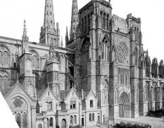 Cathédrale Saint-André - Façade sud : partie centrale