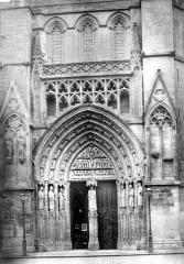Cathédrale Saint-André - Portail du transept nord