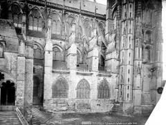 Cathédrale Saint-Etienne - Façade nord : partie ouest