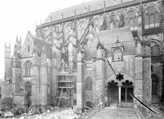 Cathédrale Saint-Etienne - Façade nord : Partie est