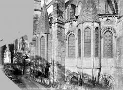 Cathédrale Saint-Etienne - Chevet : chapelles absidales
