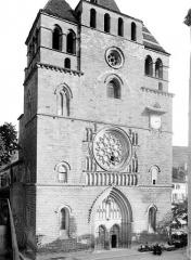 Cathédrale Saint-Etienne - Façade ouest