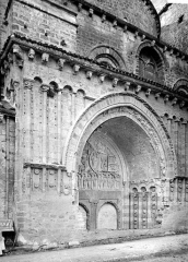 Cathédrale Saint-Etienne - Porche de la façade nord