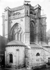 Cathédrale Saint-Etienne - Abside, côté nord-est