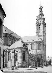 Cathédrale Notre-Dame de Grâce - Façade nord en perspective
