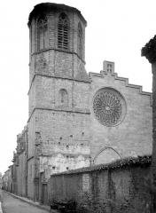 Cathédrale Saint-Michel et abords - Angle nord-ouest