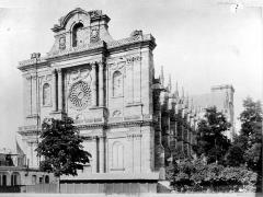 Cathédrale Saint-Etienne - Ensemble sud-ouest