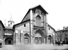 Cathédrale Saint-François de Sales - Façade ouest