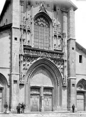 Cathédrale Saint-François de Sales - Façade ouest : partie centrale