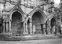 Cathédrale Notre-Dame - Portail de la façade nord : ensemble