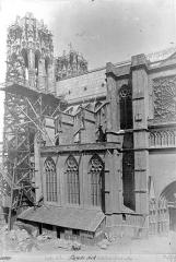 Cathédrale Notre-Dame - Façade sud : partie ouest