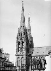 Cathédrale Notre-Dame - Façade sud : tour clocher