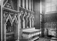 Cathédrale Notre-Dame - Vue intérieure d'une chapelle, côté sud