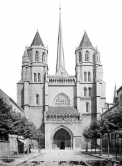 Cathédrale Saint-Bénigne - Façade ouest