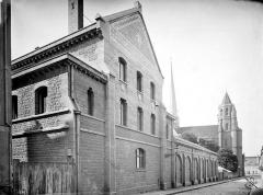 Cathédrale Saint-Bénigne - Séminaire : Façade sur rue