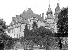 Cathédrale Notre-Dame - Evêché : Ensemble sud-est, côté jardin