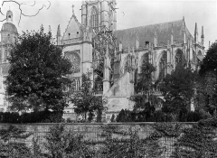 Cathédrale Notre-Dame - Façade sud