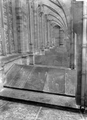 Cathédrale Notre-Dame - Façade nord : Arcs-boutants et couverture des chapelles