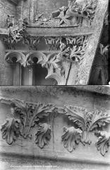 Cathédrale Notre-Dame - Transept nord : détail de la décoration