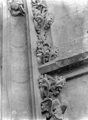 Cathédrale Notre-Dame - Vue intérieure du transept nord : détail de la décoration