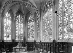 Cathédrale Notre-Dame - Vitrail de la chapelle de la Vierge