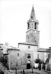 Cathédrale Saint-Léonce, baptistère et cloître - Ensemble ouest