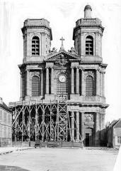 Cathédrale Saint-Mammes - Façade ouest