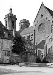 Cathédrale Saint-Mammes - Façade sud