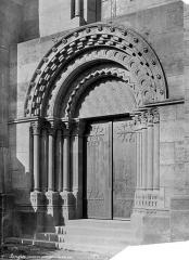 Cathédrale Saint-Mammes - Portail de la façade sud