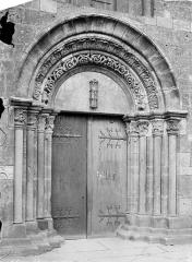 Cathédrale Saint-Mammes - Portail de la façade nord