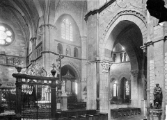 Cathédrale Saint-Mammes - Vue intérieure du transept et du choeur