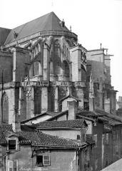 Cathédrale Saint-Etienne - Abside, côté sud-est