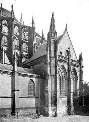 Cathédrale Saint-Julien - Façade sud : Sacristie ou salle capitulaire