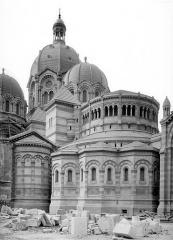 Cathédrale Sainte-Marie-Majeure, dite Nouvelle Major - Abside, côté nord-est