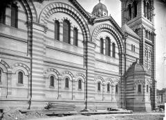Cathédrale Sainte-Marie-Majeure, dite Nouvelle Major - Façade ouest : partie sud