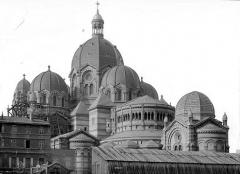Cathédrale Sainte-Marie-Majeure, dite Nouvelle Major - Coupoles : vue d'ensemble prise du nord-est