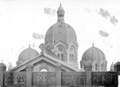 Cathédrale Sainte-Marie-Majeure, dite Nouvelle Major - Coupoles et balustrade