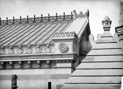 Cathédrale Sainte-Marie-Majeure, dite Nouvelle Major - Crête et entablement