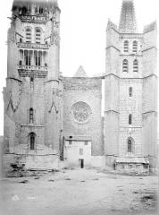 Cathédrale Notre-Dame et Saint-Privat - Façade ouest