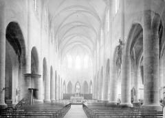 Cathédrale Notre-Dame et Saint-Privat - Nef, vue de l'entrée