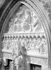 Cathédrale Saint-Pierre - Portail, tympan