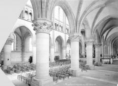 Cathédrale Notre-Dame - Nef, bas-côté sud, vue en diagonal