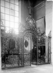 Cathédrale - Grille d'une chapelle