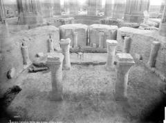 Cathédrale Saint-Pierre Saint-Paul - Crypte en cours de fouilles : vue d'ensemble