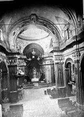 Cathédrale Sainte-Reparate - Vue intérieure de la nef, vers le choeur