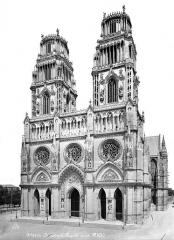 Cathédrale Sainte-Croix - Ensemble ouest